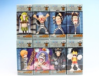 ONE PIECE – Figure (8 Characters) ~ World Collectable Figure vol.11