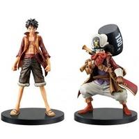 ONE PIECE – Figure ~ 2 Characters (Monkey D. Luffy, Ussop) ~ THE GRANDLINE MEN Vol.1