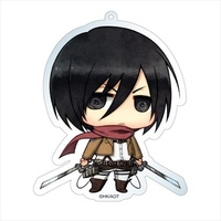 Shingeki no Kyojin (Attack on Titan) – Key chain ~  Mikasa Ackerman ~