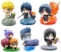 NARUTO – Figure ~ 6 Characters BOX ~ Petit Chara Land NARUTO Shippuden Kuchiyose! Naruto & Akatsuki vol.2 ~