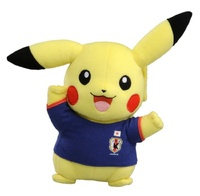 Pokemon - Stuffed Toy ~ Pikachu ~ Soccer ver ~