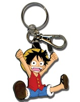 ONE PIECE – Key Chain ~ Monkey D. Luffy ~ Rubber