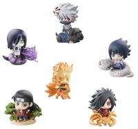 NARUTO – Figure ~ 6 Characters BOX ~ Petit Chara Land NARUTO Shippuden Kuchiyose! Ninkai Taisen Dattebayo! vol.1 ~