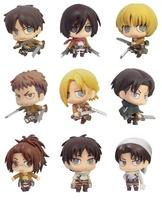 Shingeki no Kyojin (Attack on Titan) – Small Figure  (BOX, 9 Characters)