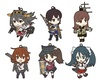 Kantai Collection – Strap ~ 6 characters ~ vol.1 ~